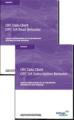 App Notes - OPC UA Analysis